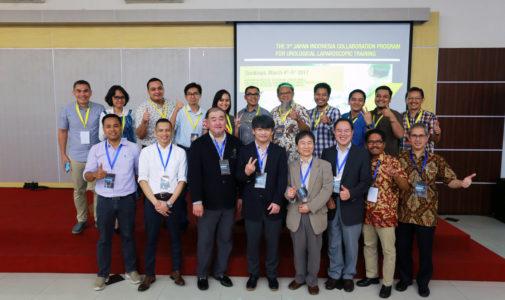Laparoscopic Workshop Surabaya in March 2017
