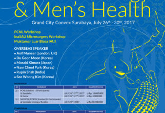 """The 34th Fiesta Urology 2017 """"Symposium on Andro-Urology and Men's Health"""