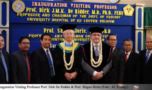 Inaguration Visiting Professor – Departemen Urologi, Universitas Airlangga