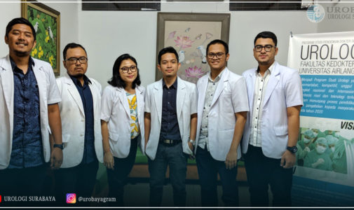 The Latest Urology Residents of Airlangga University, 2018-2019 Period