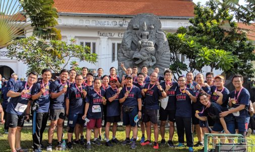 Urobaya Runs in the AIRUN 2019 Event