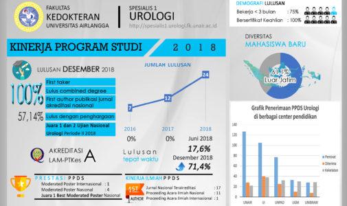 Urology Department of Airlangga University's Performance in 2018