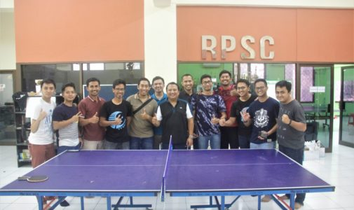 Actively participating in the 2019 Dean Cup event, Dr. Lukman Hakim, Sp.U (K), Chair of the Programme in Urology carve out sweet notes on the Table Tennis Branch.