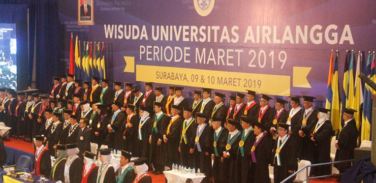 Wisuda Lima PPDS Urologi Pertama dengan Gelar Double Degree Universitas Airlangga Periode Maret 2019