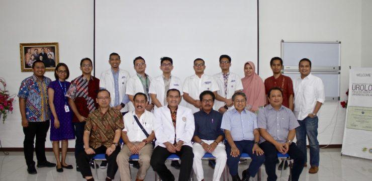 Evaluasi Rutin PPDS dan Pelepasan Spesialis Urologi Baru Program Studi Urologi FK Universitas Airlangga Juli 2019