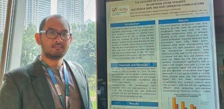Eksistensi Residen Urobaya di Pertemuan Ilmiah Internasional