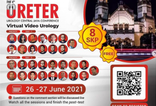 Webinar The 4th URETER: Urology Central Java Conference Virtual Video Urology