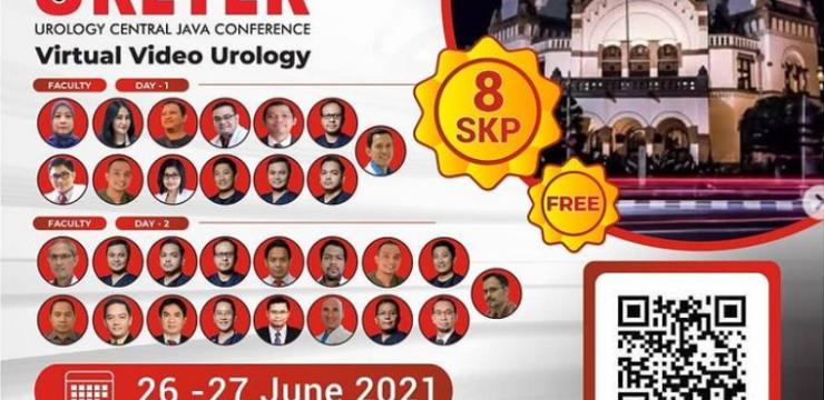 Webinar The 4th URETER: Urology Central Java Conference Virtual Video Urology