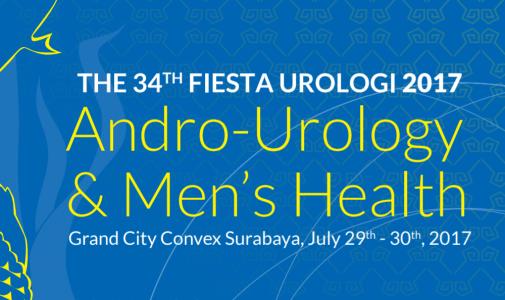 The 34th Fiesta Urologi 2017 Grand City Ballroom, 29-30th July 2017
